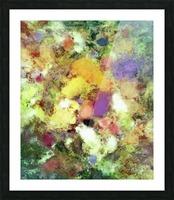 Forgotten petals Picture Frame print