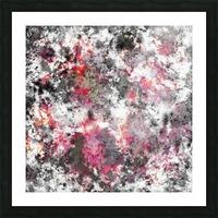 Frosty pink Impression et Cadre photo