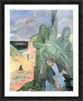 Green Christ by Gauguin Picture Frame print