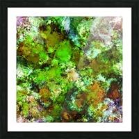 Green scene Picture Frame print