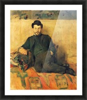 Gustave Lucien Dennery by Toulouse-Lautrec Picture Frame print