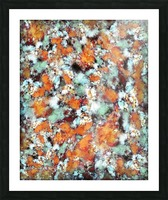 Little falling embers Picture Frame print