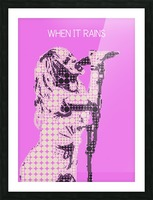 When It Rains   Hayley Williams Picture Frame print
