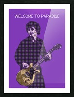 welcome to paradise   Billie Joe Armstrong Picture Frame print