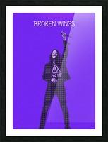 broken wings   Myles Kennedy   alter bridge Picture Frame print