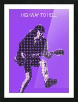 Highway to Hell   Angus Young Picture Frame print