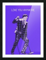 Love You Anymore   Michael Buble Picture Frame print