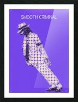michael jackson_Smooth Criminal Picture Frame print