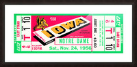 1956_College_Football_Notre Dame vs. Iowa Picture Frame print