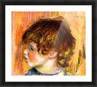 Head of a young girl Picture Frame print