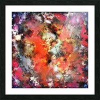See the flames Picture Frame print