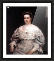 Portrait of A. P. Yurgenson Picture Frame print