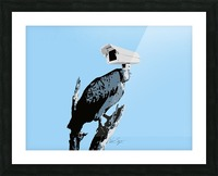 Vultures Picture Frame print
