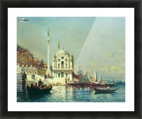 Constantinople - 1860 Picture Frame print