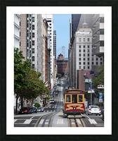San Francisco City Scene Picture Frame print