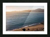 Marshall Beach Sunsets Picture Frame print