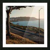 Sunset On San Francisco Coast Picture Frame print