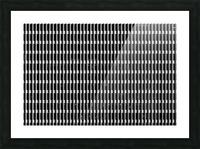 Black and White Skyscraper Windows Impression et Cadre photo