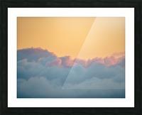 Clouds at Sunset Impression et Cadre photo