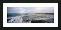 Huntington Beach Panorama Impression et Cadre photo
