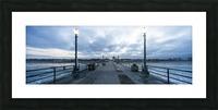 Huntington Beach Pier Panorama Picture Frame print