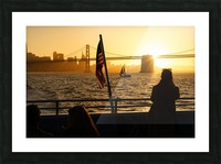 Sunset In The Bay Picture Frame print