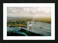 Sunset At The Getty Impression et Cadre photo