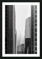 Vanishing Tower Picture Frame print