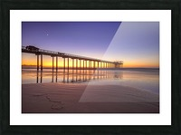 Sunset Therapy Picture Frame print