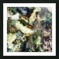 Silent erosion Picture Frame print
