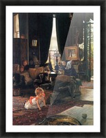 Hide-and-seek by Tissot Picture Frame print