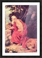 Hieronymus by Rubens Picture Frame print