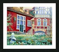 Scandinavia Sweden  Picture Frame print