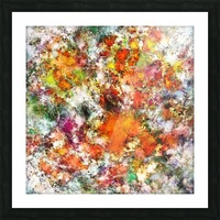 Spangle Picture Frame print