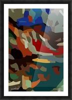 paradolic vista Picture Frame print