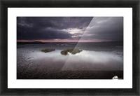 Machynys sunset Picture Frame print