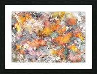 Stumbling through the storm Picture Frame print