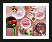 Ceviche  Picture Frame print