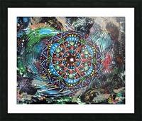 Harmonie en vert Picture Frame print