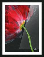 Fantastical Flower Picture Frame print