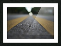 The Road Before You Picture Frame print