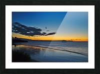 Sunrise Full Frame Picture Frame print