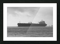 Tanker Picture Frame print