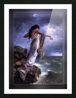 Death of Sappho by Miguel Carbonell Selva Picture Frame print