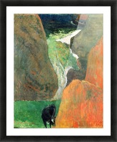 Hover Above the Abyss by Gauguin Picture Frame print