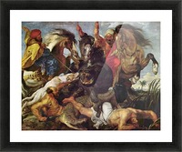 Hunting by Rubens Picture Frame print