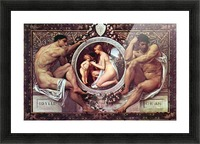 Idyll by Klimt Picture Frame print