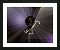DNA Solution Picture Frame print