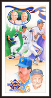 1986 New York Mets Art Picture Frame print