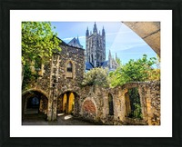 Canterbury Cathedral  Picture Frame print
